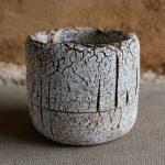 Petit vase.Terre cuite 14 x 15 x 16 cm