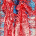 Chère chair, corps paysage.. 21 x 13cm