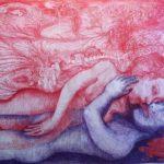 Souvenir Fantôme du jardin de ton corps 36 x 25 cm